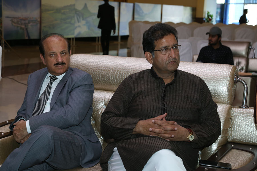 Ch Iftikhar Ahmed CEO Asia Developers Gujranwala and Ch Khalil Tahir AD Environment