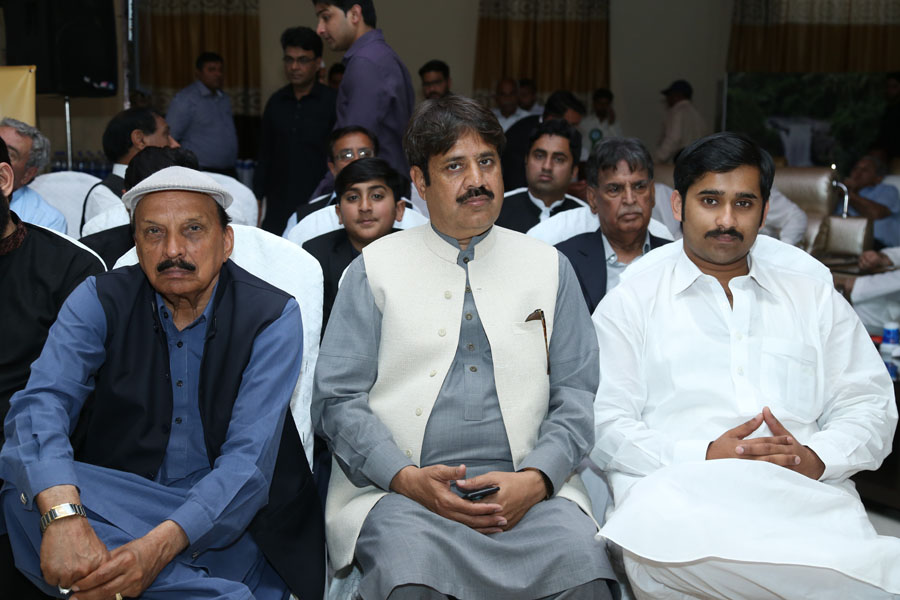 Ch Muhammad Arif USA, Chairman District Council Raja Qasim Ali Khan, Talib Mehdi